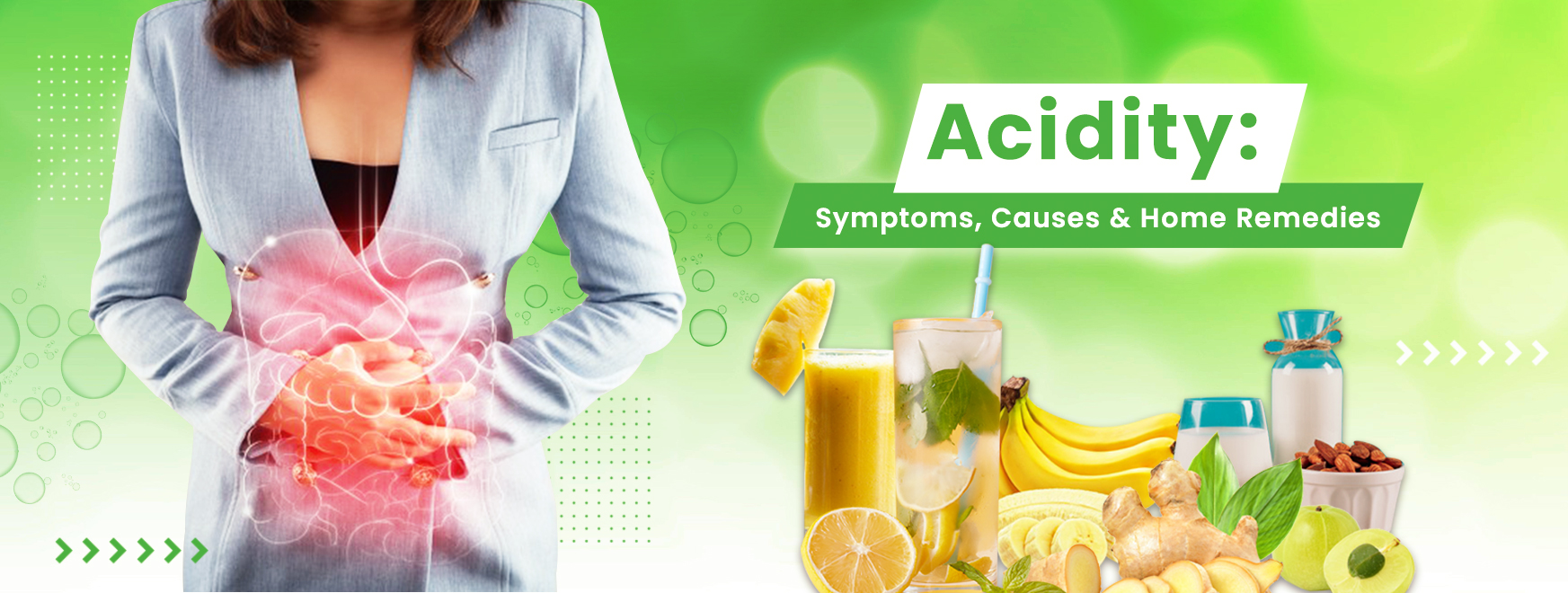 Acidity: Symptoms, Causes and Home Remedies
